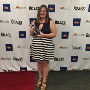 Melissa MacKinnon, Young Entrepreneur of the Year Award 2016